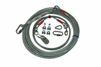 Freedom Aerial Dog Run Standard Duty with Cable Lead Line