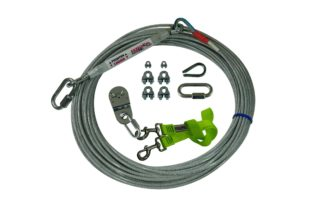 Freedom Aerial Dog Run Standard Duty with Nylon Lead Line