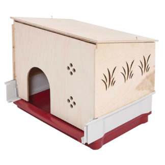 """Midwest Wabbitat Deluxe Rabbit Home Wood Hutch Extension Wood 37"""" x 19"""" x 20"""""""