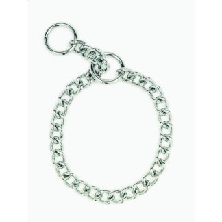 "Coastal Pet Products Herm. Sprenger Dog Chain Training Collar 2.0mm 22"" Silver"