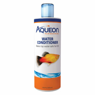 "Aqueon Fish Tank Water Conditioner 16 ounces 2.5"" x 2.5"" x 8.4"""