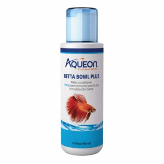 "Aqueon Betta Bowl Plus Water Conditioner 4 ounces 1.7"" x 1.7"" x 5.4"""