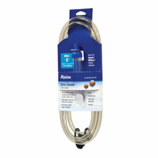 "Aqueon Siphon Vacuum Gravel Cleaner Mini 5.5"" x 1.5"" x 13.7"""