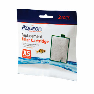 "Aqueon Replacement Filter Cartridges 3 pack Extra Small 5.24"" x 1.75"" x 5.7"""