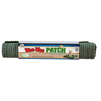 "Four Paws Wee-Wee Patch Indoor Potty Replacement Grass  Medium 19"" x 19"" x 0.5"""