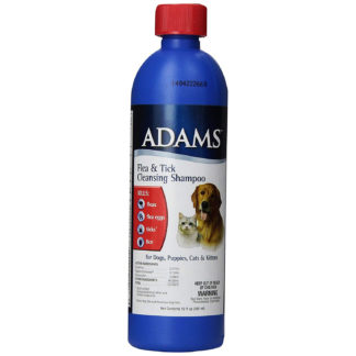 Adams Flea and Tick Cleansing Shampoo 12 ounces