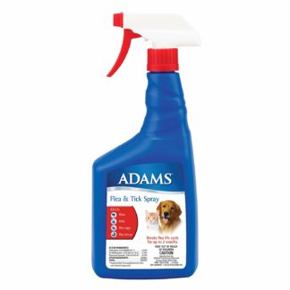 Adams Flea and Tick Spray for Cats and Dogs 32 ounces