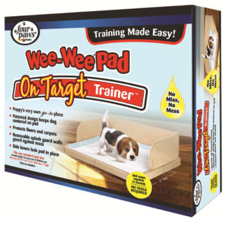 "Four Paws Wee-Wee Pad On Target Trainer 22.75"" x 22"" x 7"""