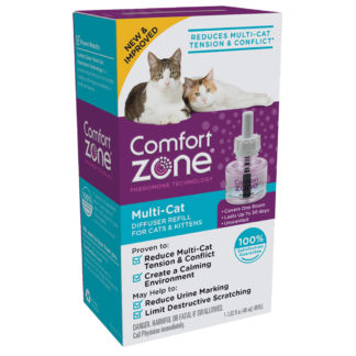 Comfort Zone Cat Multicat Diffuser Refill 1 Pack
