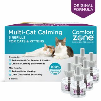 Comfort Zone Cat Multicat Diffuser Refill 6 Pack