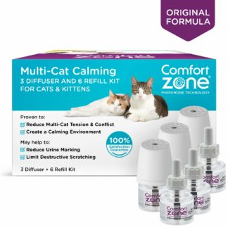 Comfort Zone Cat Multicat Diffuser Kit