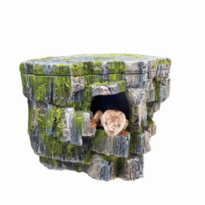 "Zilla Aquarium Décor Vertical Rock Cave 8.75"" x 5.875"" x 7.25"""