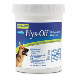 Farnam Flys Off Fly Repellent Ointment 7 ounces