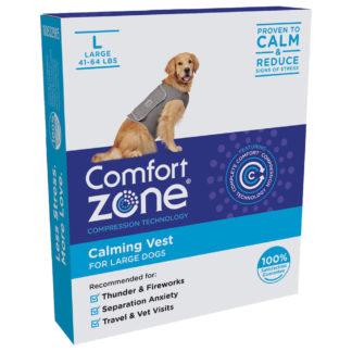 Comfort Zone Dog Vest Large