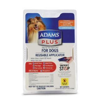 Adams Plus Flea and Tick Spot on Dog Medium 3 Month Supply