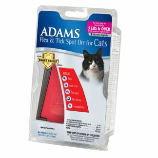 Adams Plus Flea and Tick Spot on Cats Over 5 lbs. 3 Month Supply