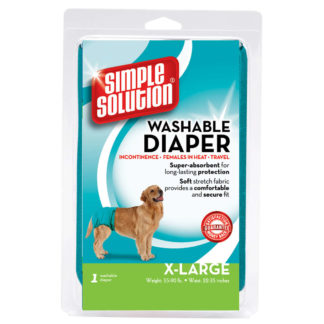 Simple Solution Washable Dog Diaper Extra Large Teal