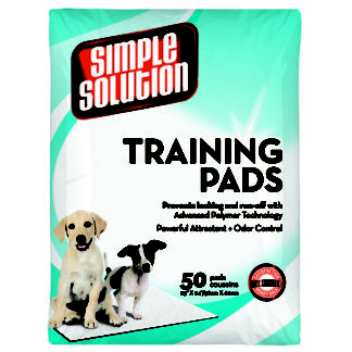 "Simple Solution Training Pads 50 count Large 23"" x 24"" x 0.1"""
