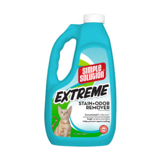 "Simple Solution Extreme Cat Stain and Odor Remover 1 Gallon 5.42"" x 7.09"" x 11.88"""