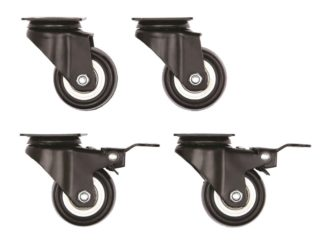 Midwest Skudo Pet Travel Carrier Wheel Casters 4 Pack