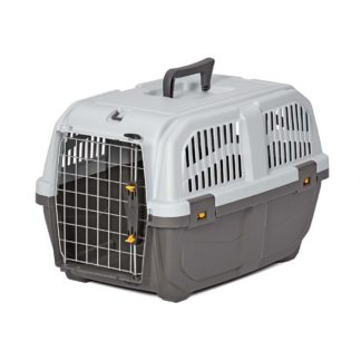 "Midwest Skudo Pet Travel Carrier Gray 21.5"" x 14"" x 13.75"""
