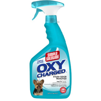 "Simple Solution Oxy Charged Stain and Odor Remover 32oz 2.9"" x 4.8"" x 10.75"""