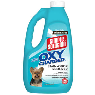 "Simple Solution Oxy Charged Stain and Odor Remover 1 Gallon 5.42"" x 7.09"" x 11.88"""