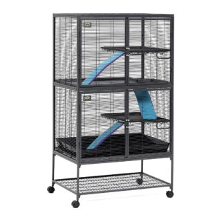 "Midwest Critter Nation Double Level Pet Pen Gray 36"" x 24"" x 63"""