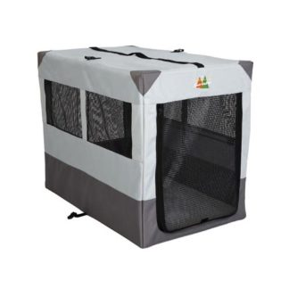 "Midwest Canine Camper Sportable Crate Gray 42"" x 26"" x 32"""