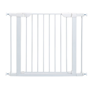 "Midwest Steel Pressure Mount Pet Gate White 29.5"" - 38"" x 1"" x 29.875"""