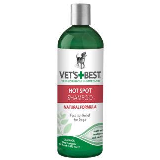 "Vet's Best Hot Spot Dog Skin Care Shampoo 16oz Green 2.45"" x 2.45"" x 8"""