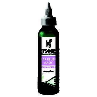 "Vet's Best Dog Ear Relief Wash 4oz Green 1.5"" x 1.5"" x 6.5"""