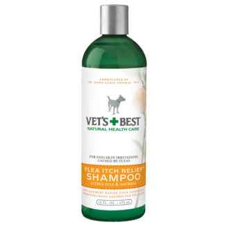 "Vet's Best Flea Itch Relief Dog Shampoo 16oz Green 2.45"" x 2.45"" x 8"""