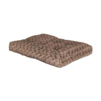 "Midwest Quiet Time Deluxe Ombre' Dog Bed Mocha 17"" x 11"""