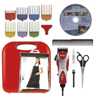 "Wahl Deluxe U Clip Red 6.5"" x 2"" x 1.5"""