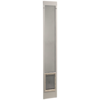 """Ideal Pet Products Fast Fit Pet Patio Door Super Large White 1.88"""" x 20.25"""" x 93.75"""""""