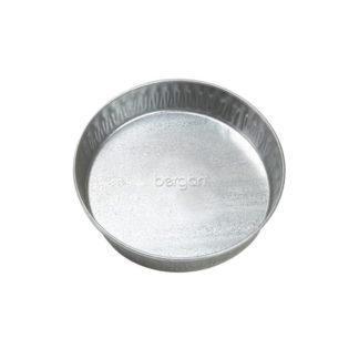 "Bergan Galvanized Pet Pan 3 Quarts Silver 12.5"" x 12.5"" x 2.13"""