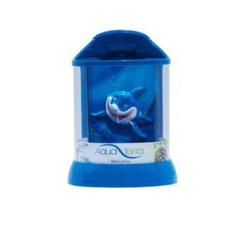 "BioBubble 3D Background for AquaTerra 1 Gallon Blue 7.5"" x 7.5"" x 10"""