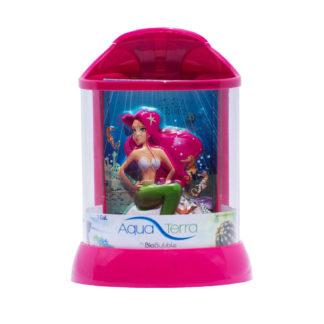 "BioBubble 3D Background for AquaTerra 1 Gallon Pink 7.5"" x 7.5"" x 10"""