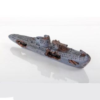 "BioBubble Decorative Sunken U-Boat 15"" x 3"" x 4"""