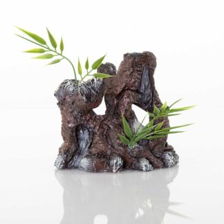 "BioBubble Decorative The Old Stump 4.25"" x 3"" x 4.25"""