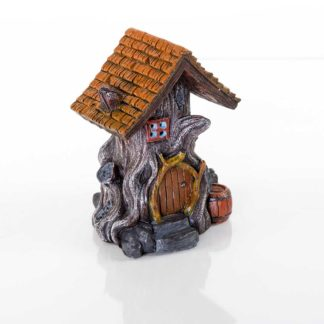 "BioBubble Decorative Woodland House 4.5"" x 4"" x 5.5"""