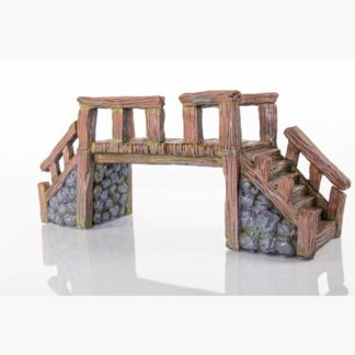"BioBubble Decorative Wood Bridge Large 16"" x 5.25"" x 7"""