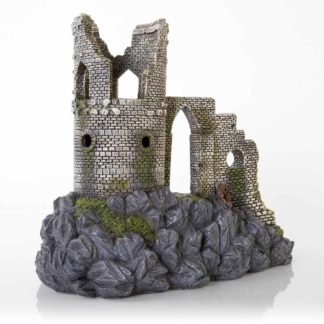 "BioBubble Decorative Mow Cop Castle Large 12.5"" x 11.25"" x 8"""