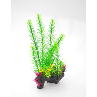"BioBubble Decorative Foxtail Green 6"" x 3"" x 11"""