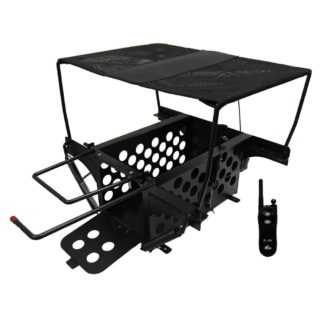 D.T. Systems Remote Large Bird Launcher for Pheasant and Duck Size Birds Black