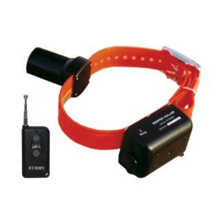 D.T. Systems Baritone Dog Beeper Collar With Remote Orange