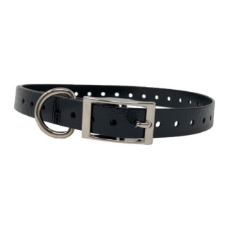 "The Buzzard's Roost Replacement Collar Strap 3/4"" Black 3/4"" x 24"""