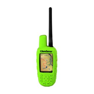 The Buzzard's Roost GlowSaver Case for Astro with Screen Protectors Bright Green
