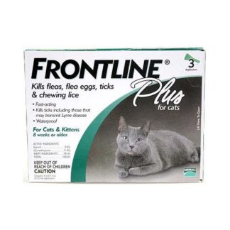 Frontline Flea Control Plus for All Cats And Kittens 3 Month Supply